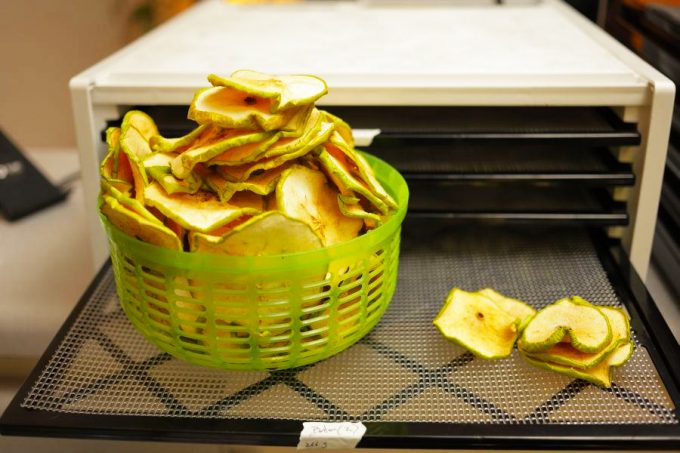 apple chips from food dehydrator