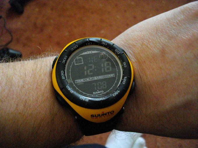 digital suunto watch watch with compass