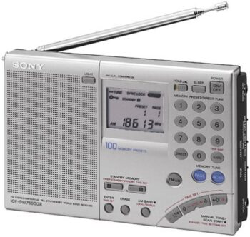 Sony ICF-SW7600GR Receiver