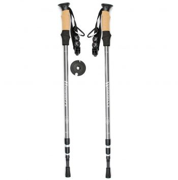 Anti Shock Telescopic Trekking Pole