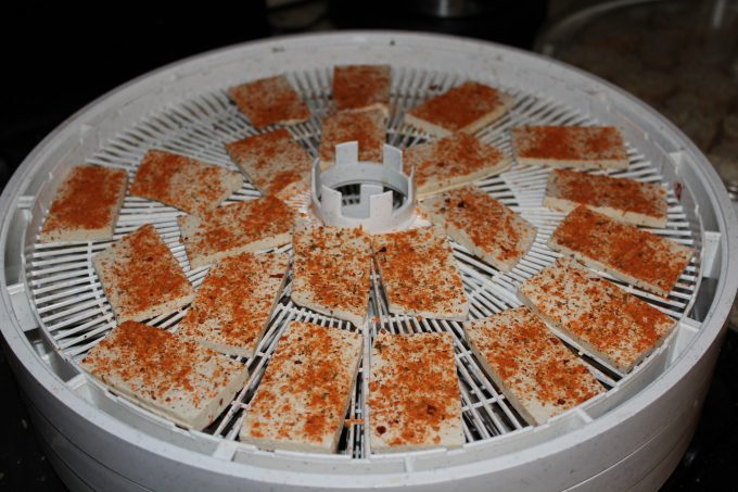drying food in food dehydrator