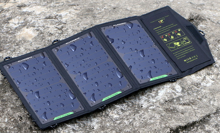Weather Resistance solar panel on the ground
