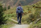 Away Backpack Hike Mountain Hiking Path Wanderer