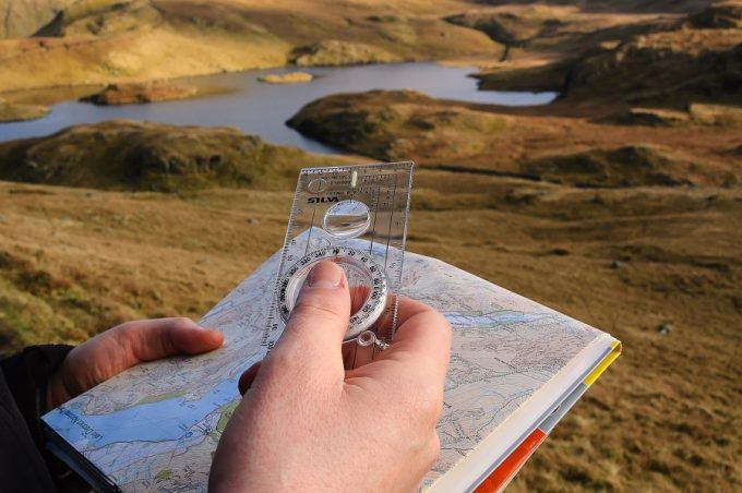 Basics-of-compass-and-map-reading