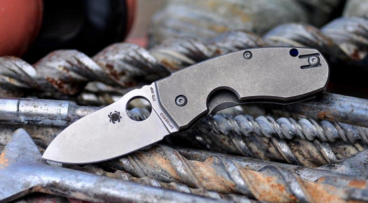 Image showing a Spyderco-Pocket-Knives-For-EDC