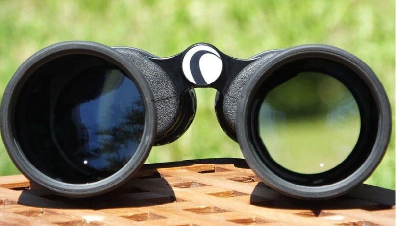 compact binocular lens