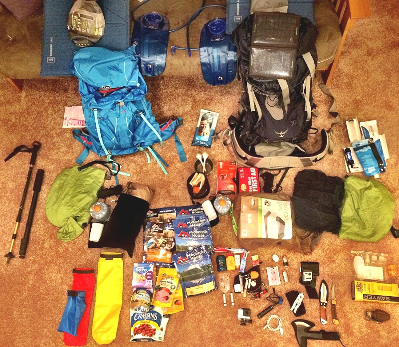 compare your list-and camping gear