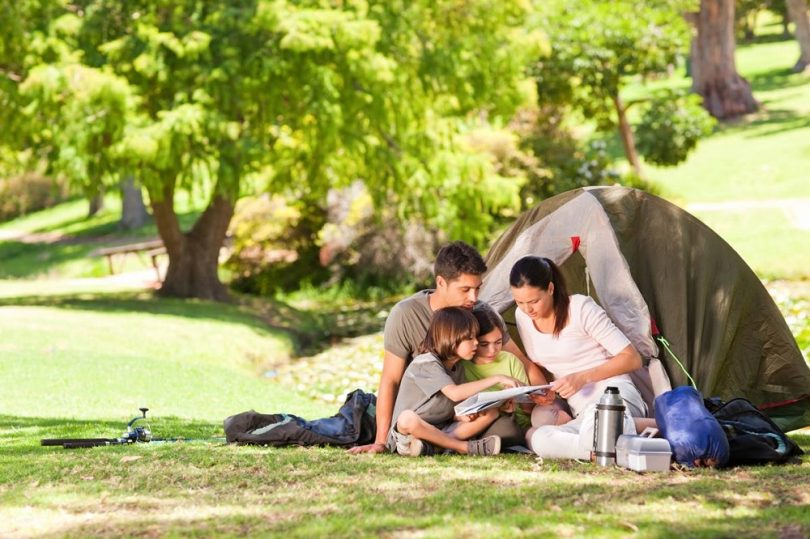 cool camping activities