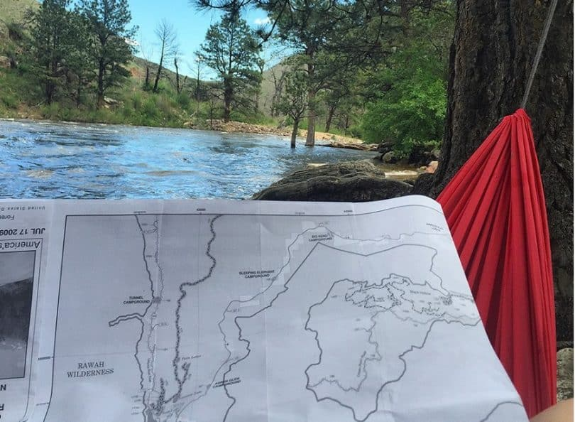 draw up an camping activity list