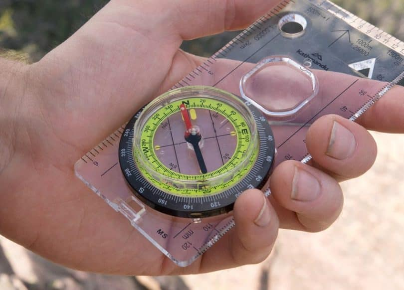 finding your bearing with compass