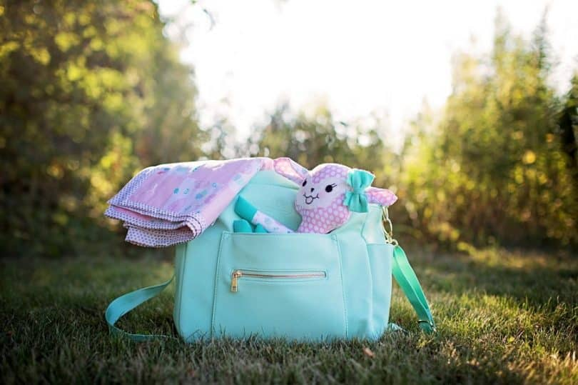 Diaper bag with fit and style
