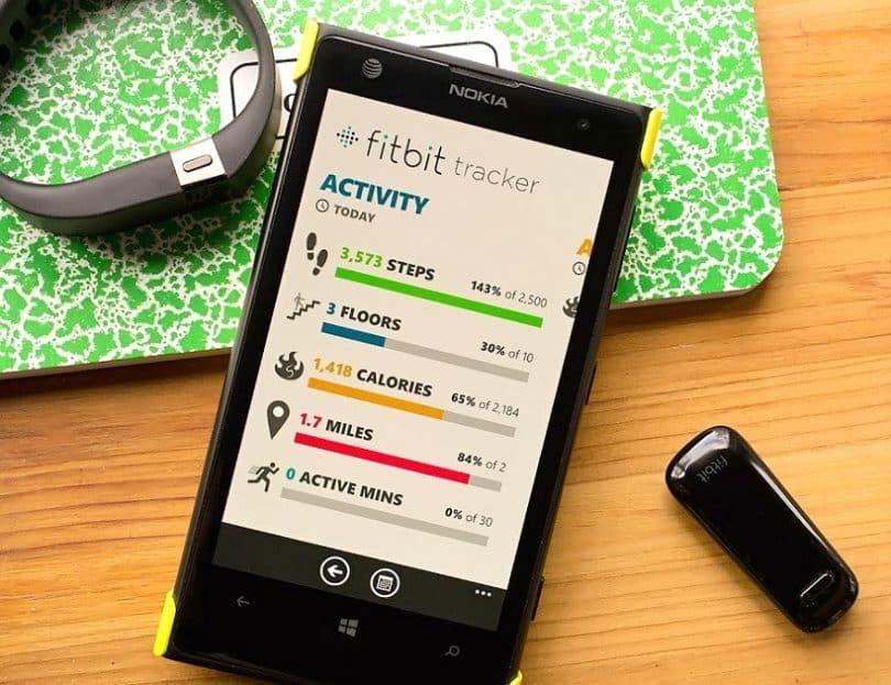 fitness tracker companion apps