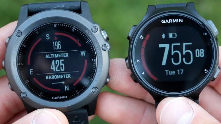 Two Garmin Forerunner 735XT GPS Watch