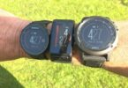 garmin gps watches on the hand