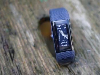 Garmin vívosmart HR+ Regular Fit Activity Tracker