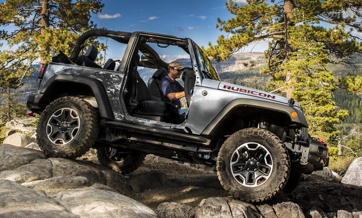 Jeep Wrangler Test Drive
