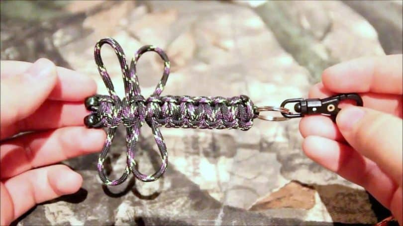 knotting the rest of your keychain