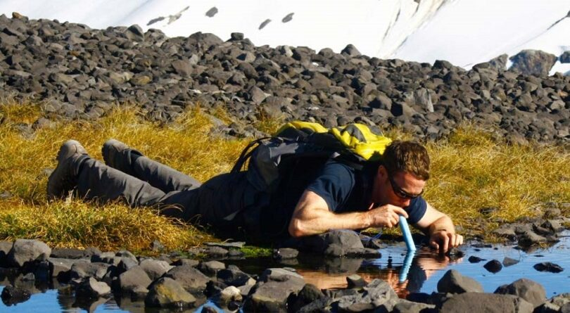 LifeStraw Personal Water Filter using