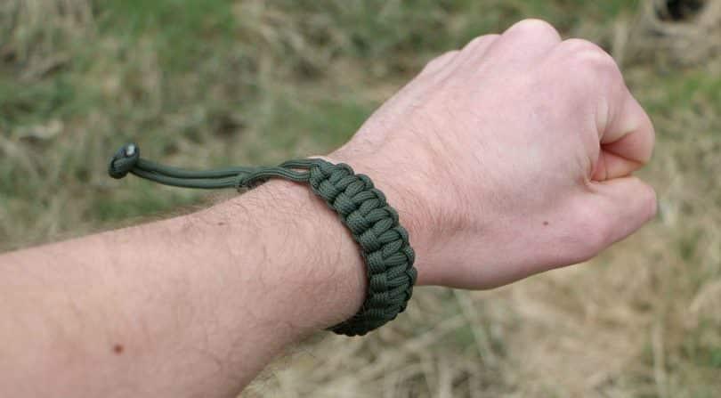 Mad max bracelet worn
