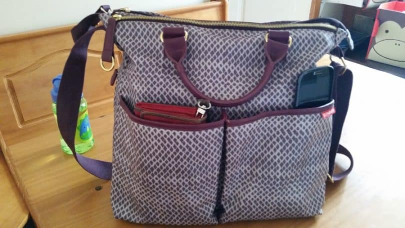 Ready messenger diaper bag