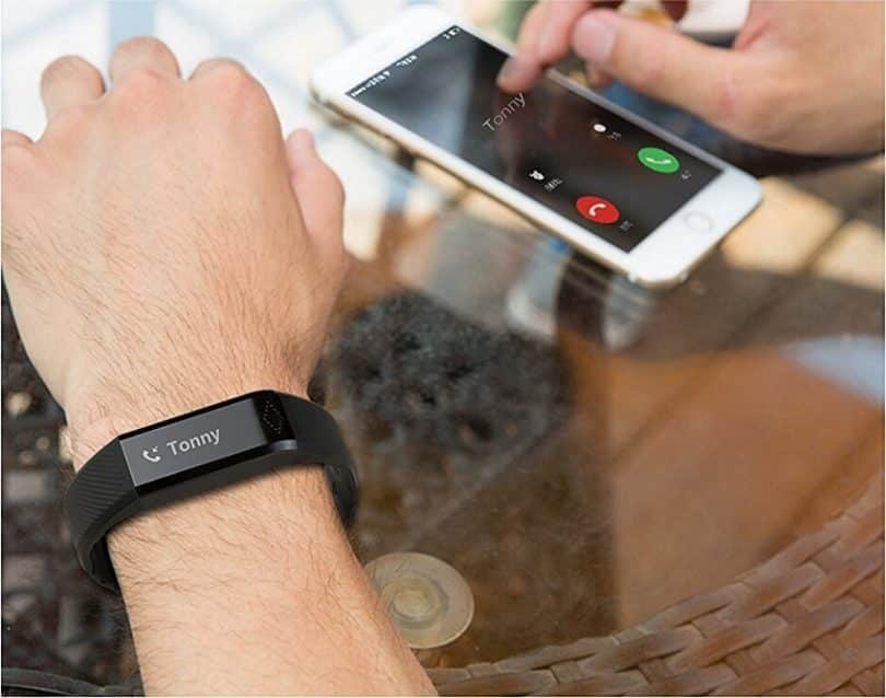 Activity tracker with no screen