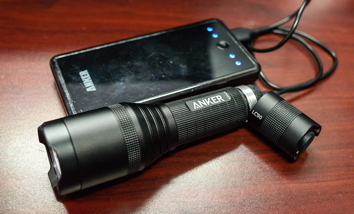 Nothing beats the convenience and ease of use you get from a USB rechargeable flashlight.