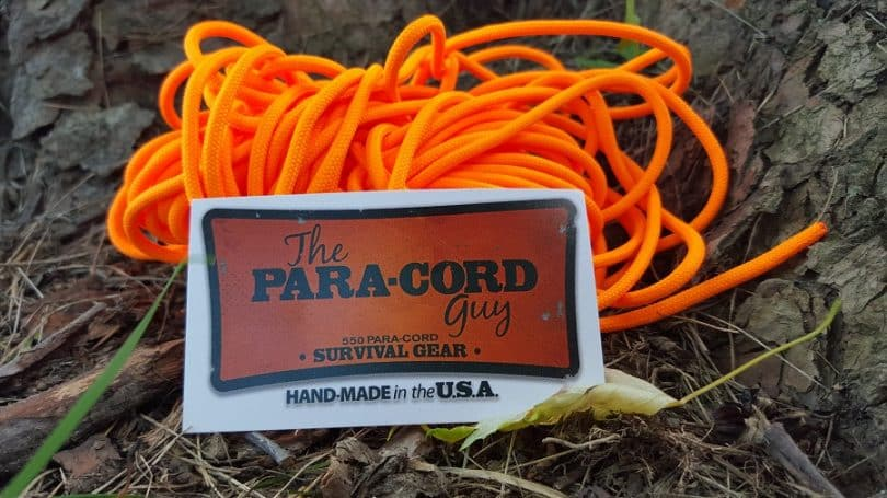 paracord handmade in USA