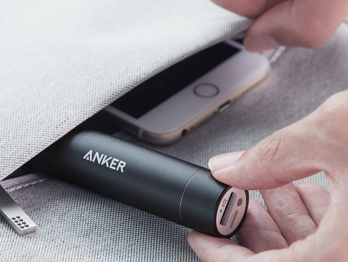 Portable Battery in pocket