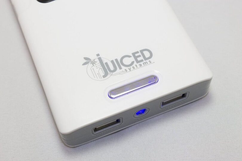 portable battery charging