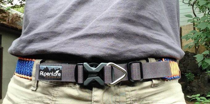 paracord survival belt