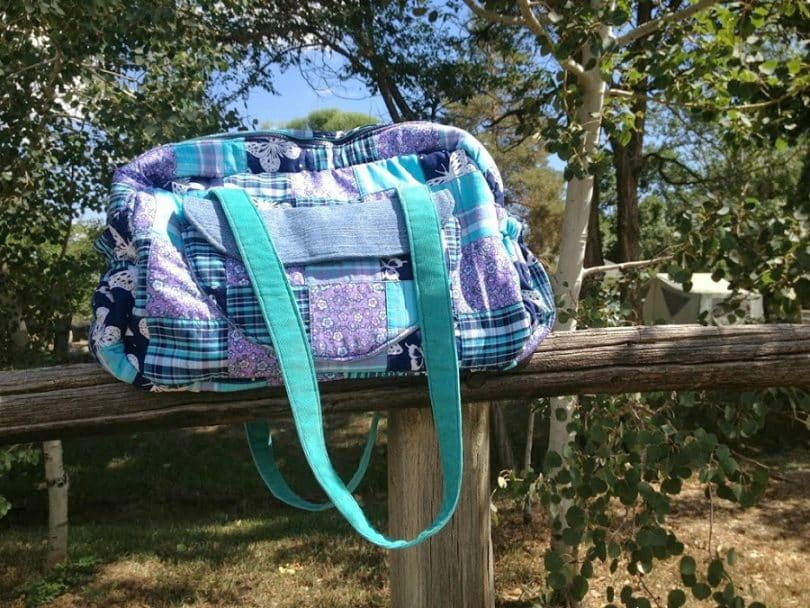 sewsweetness diaper bag outdoor