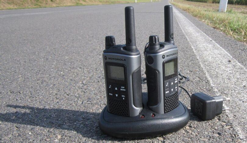 Size of walkie talkie