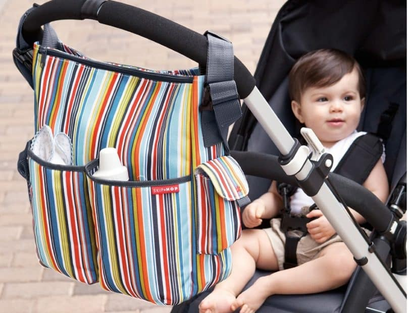 Baby and stroller diaper bag