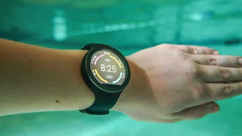 Underwater fitness tracker