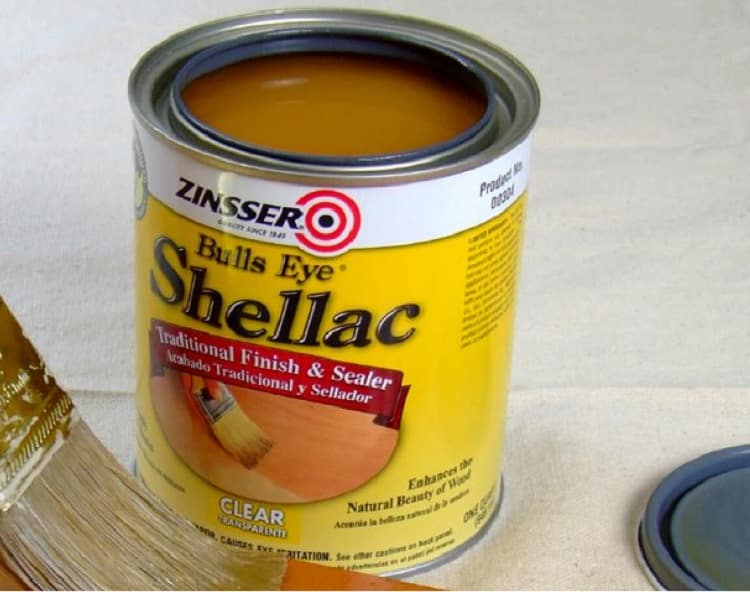 use of shellac for waterproofing