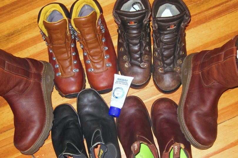 waterproof your boots at home