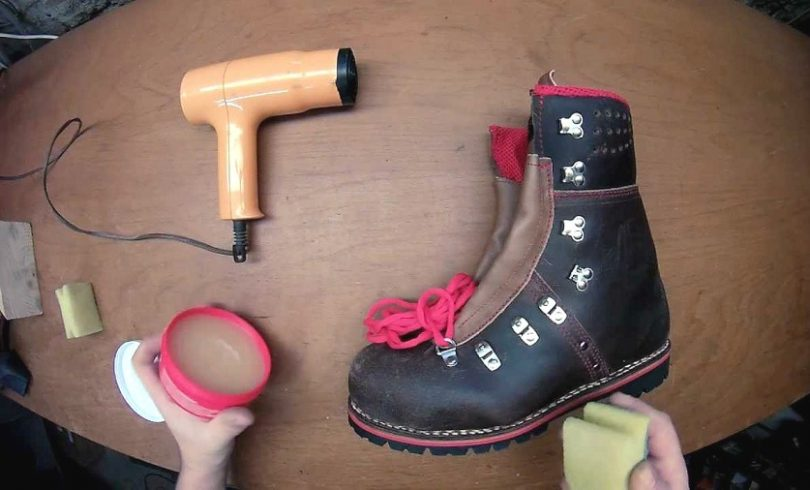 waterproofing your boots tools
