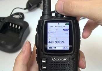 Wouxun KG-UV9D DTMF Two-way Radio