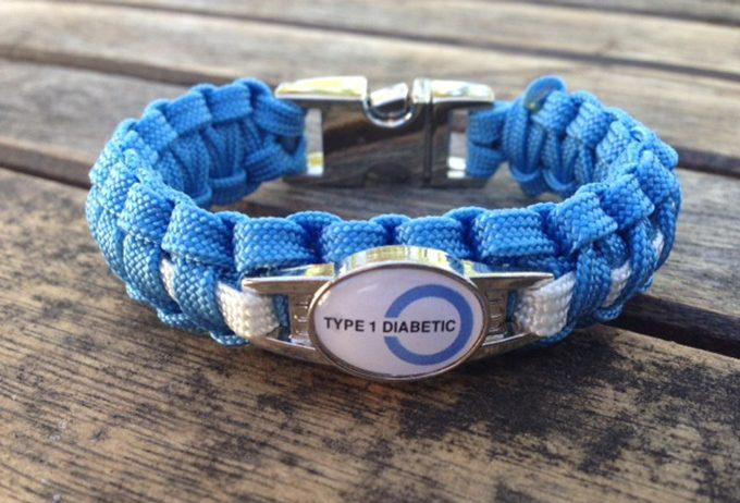 diabetic paracrod bracelets