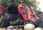 best hiking backpack on rocks