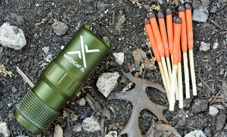 Firestarter tools on the ground