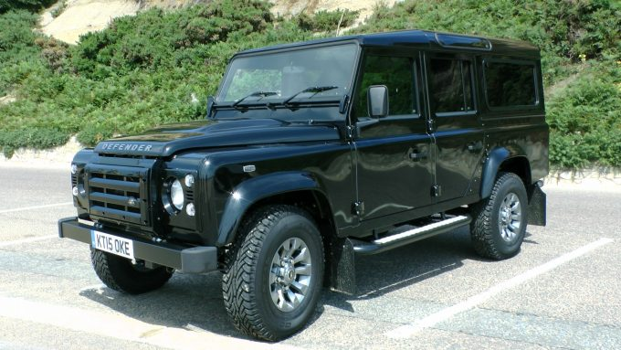 land rover defender as bugout vehicle