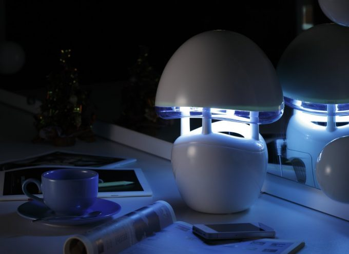 mosquito reppelent on night table