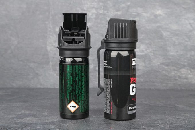 pepper spray details and mechanizams