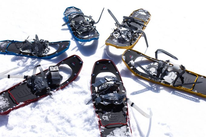 several types of snowshoes