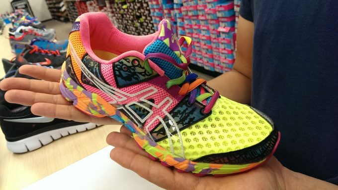 looking for a running shoe