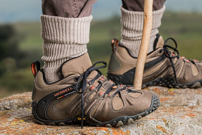 Merrel hiking boots