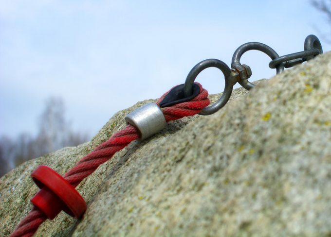 slimbing rope safety