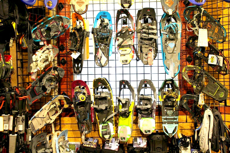 snowshoe store