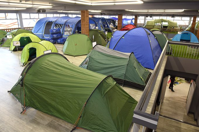 tents in store